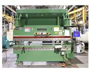 "90 Ton 120"" Bed Cincinnati 90CBX8 PRESS BRAKE, 3 Axis Automec CNC 150 Back Gauge"