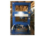 """100 Ton 12"""" Stroke Pressmaster RTP-100T H-FRAME HYDRAULIC PRESS, w/4 Axis Powered Hyd"""