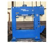 "150 Ton 16"" Stroke Pressmaster HFBP-150/20 MWH H-FRAME HYDRAULIC PRESS, w/20 Ton Broa"