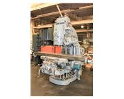 "79.25"" Table 15HP Spindle Cincinnati 415-16-DT VERTICAL MILL, #50 Taper, Geared Head,"
