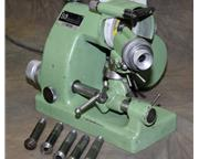 Deckel SO TOOL  CUTTER GRINDER, bench model, 1/115 volts, with collets, beauty