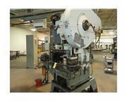 "60 Ton 3"" Stroke Minster B1-60 OBI PRESS, Air Clutch - Variable Speed"