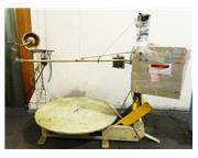 """8000Lb Cap. 54"""" Width Littell DH80 UNCOILER, Pallet Decoiler"""