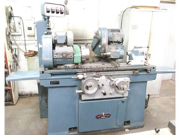 "10"" Swing 27"" Centers Jones  Shipman 1300EIU OD GRINDER, SWING AROUND I.D., HYD. TABLE, AUTO INFEED, PLUNGE"
