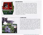 "60"" Swing 200"" Centers Sharp 60200X Heavy Pattern ENGINE LATHE, 40 HP, Spdl Bore"