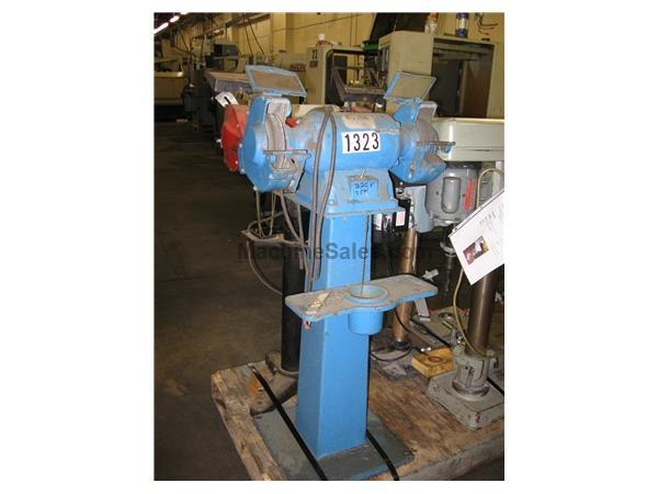 "8"" Double End Pedestal Grinder"