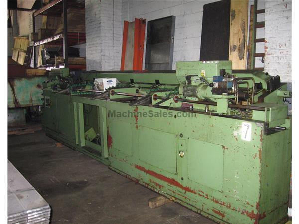 RIS Ingold AG, Type 68-1 Double Head Chamfering Machine