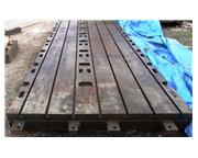 "84"" x 192"" x 9"" T-Slotted Floor Plate"