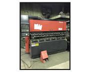 "AMADA, 88 ton x 8', HYDRAULIC ""UPACTING"" PRESS BRAKE, FBD 8025, 3-axis CNC"