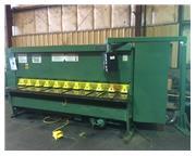"""1/4"""" x 120"""" CINCINNATI 2500 CNC Hyd, Power Shear w/Pneumatic Shee"""