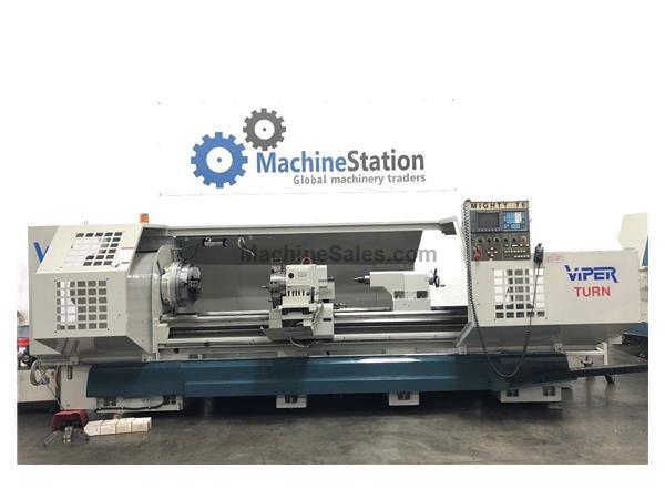 Mighty Viper T6 X 120 CNC Oil Flat Bed Lathe