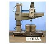 "5' Arm Lth 13"" Col Dia Ooya RE2-1450A RADIAL DRILL, Power Elevation  Clamping,Box Tab"