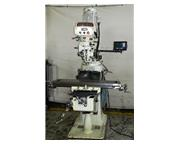 "42"" Table 3HP Spindle Acer EVS-3VS VERTICAL MILL, Electronic Vari-Speed, Newall DRO,"