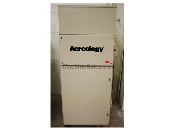 "1500 CFM, Aercology, No. DM-1500, 3 HP, 8"" Inlet, 1995"