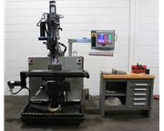 "30"" X Axis 3HP Spindle Bridgeport V2XT CNC VERTICAL MILL, DX-32 Control,3-Axis, #30 T"
