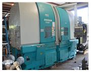 2002 DOOSAN V550T TWIN SPINDLE VERTICAL TURNING CENTER WITH FANUC SERIES 18