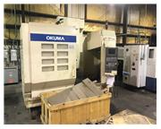 "1998 OKUMA MC-V4020 VERTICAL MACHINING CENTER, 40"" X 20"" X 17&quo"
