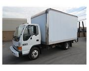 1999 GMC W3500 14 ft. Box Van Truck