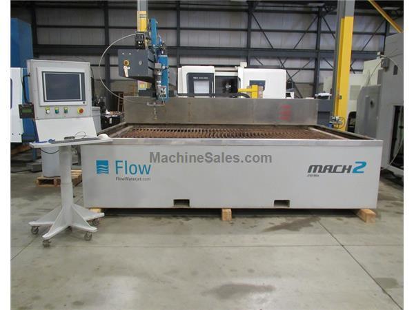 Used 2013 FLOW MACH 2B MODEL 2031B CNC WATERJET CUTTING