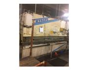 175 TON WYSONG HYDRAULIC PRESS BRAKE,  MODEL MTH175-144