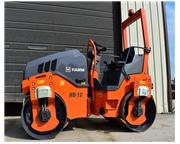2018 Hamm HD12VV Asphalt Roller - W6825