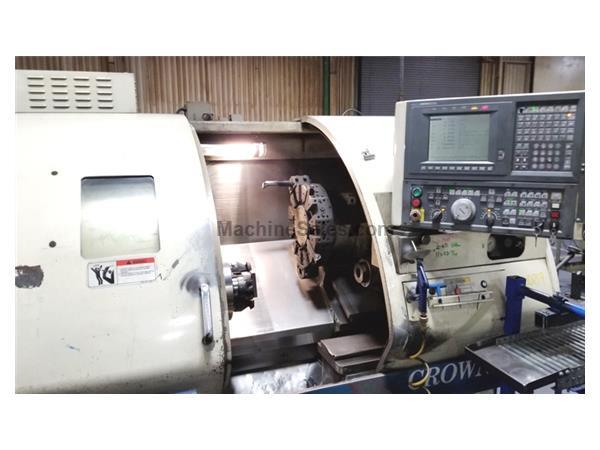 "1997 OKUMA Crown ""Big Bore""  CNC Turning Center With All Options"