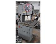 "16"" Throat 12"" Height DoAll 1612-H VERTICAL BAND SAW, Hyd-Table, Vari-Speed, Bla"