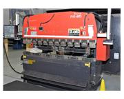 Amada 88 Ton RG80 3-Axis CNC Upacting Hydraulic Press Brake