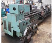 "28"" Swing 160"" Centers Tos SN71B ENGINE LATHE, Inch/Metric, Gap, 34 Jaw, 2 Stead"
