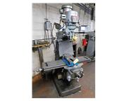 "42"" Table 2HP Spindle Bridgeport SERIES I VERTICAL MILL, Vari-Speed, R-8, Chrome Acu-"