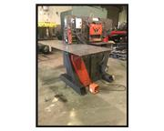 "Edwards Hydraulic Ironworker, 100 ton, 6""x6""x1/2"" angle, 4 stations,11"" tht"