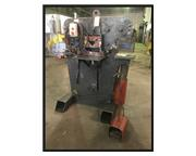"Edwards 55 Ton Hydraulic Ironworker,  3"" x 3"" x 3/8"", 4 stat"