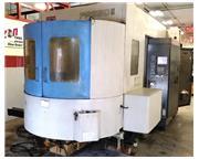 1999 TOYODA FA-550-II  CNC HORIZONTAL MACHINING CENTER'S  FANUC 16iMB