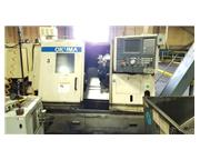 "2004 Okuma Captain L370 with OSP-110"" Diameter Autoblok Indexing Chuck"