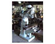 Bridgeport Manual Mill with X axis Power Feed