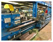 "25"" Swing 320"" Centers Tos SUS 63 ENGINE LATHE, Inch/Metric, Taper, 3 Steady Res"
