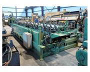 Lockformer #L1220, floor joist rollforming system, 20 stand