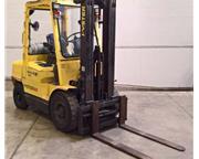 "5350 Lb. Hyster H60XM,LPG,Triple Mast,181"" Lift Height,44""Forks,"