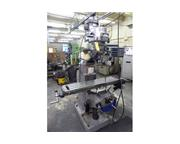 "48"" Table 2HP Spindle Bridgeport SERIES I VERTICAL MILL, Vari-Speed, Chrome, Bport Pw"