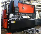 "138 Ton 122"" Bed Amada FBD-1253E PRESS BRAKE, NC9-EXII 3-Axis CNC Control."