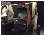 "16"" Screen Starrett HE-400, NEW 1996, OPTICAL COMPARATOR, QC-2000 DRO w/PROG. GEO. FU"