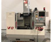 "2000 HAAS MODEL VF-0 VERTICAL MACHINING CENTER, 20"" X 16"" x 20"""