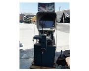 "14"" Deltronic # DH14-MPC , horiz. optical comparator, Metrology DRO w/ multi-pt radiu"