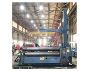 """ROUNDO PS-340 5/8"""" x 10' Double Pinch Hydraulic Plate Roll"""