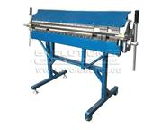 Segmented sheet metal bending machine (folder MB-1400)