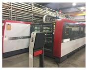 4500 WATT MITSUBISHI ML4020 NX CO2 LASER MFG:2013 - APPROX:10,000 BEAM ON H