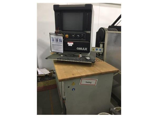 Used OMAX 55100 CNC WATERJET MACHINING CENTER for sale - 132858