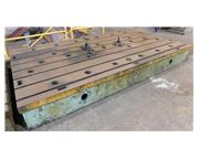"139"" x 78.75"" T-Slotted Cast Iron Floor Plate"