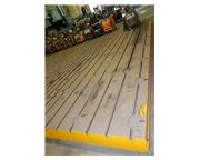 "288"" x 84"" T-Slotted Cast Iron Floor Plate"