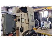 OKUMA LOC 500-2000SC CNC Hollow Spindle Gap Bed Lathe